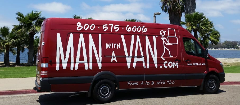 A man and his van